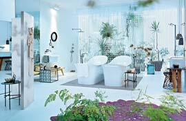 bad idee f r badezimmer farbig my lovely bath magazin f r bad spa. Black Bedroom Furniture Sets. Home Design Ideas