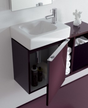 waschtischunterschrank f rs g ste wc my lovely bath. Black Bedroom Furniture Sets. Home Design Ideas