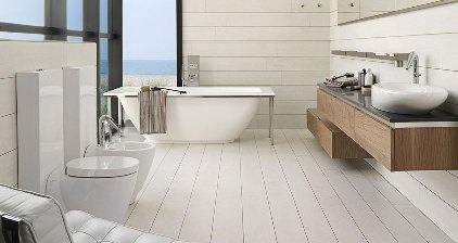 fliesen in holzoptik wei von porcelanosa my lovely bath magazin f r bad spa. Black Bedroom Furniture Sets. Home Design Ideas
