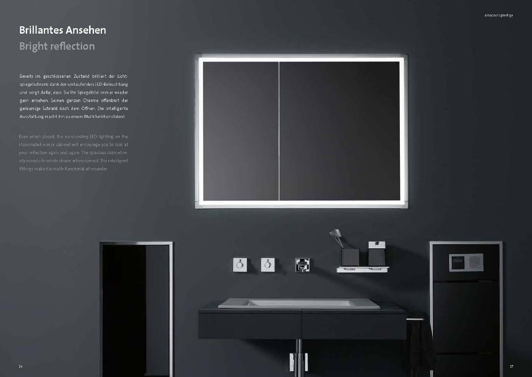 emco einbauspiegelschrank prestige my lovely bath. Black Bedroom Furniture Sets. Home Design Ideas