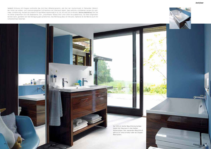 duravit badm bel 2nd floor my lovely bath magazin f r. Black Bedroom Furniture Sets. Home Design Ideas