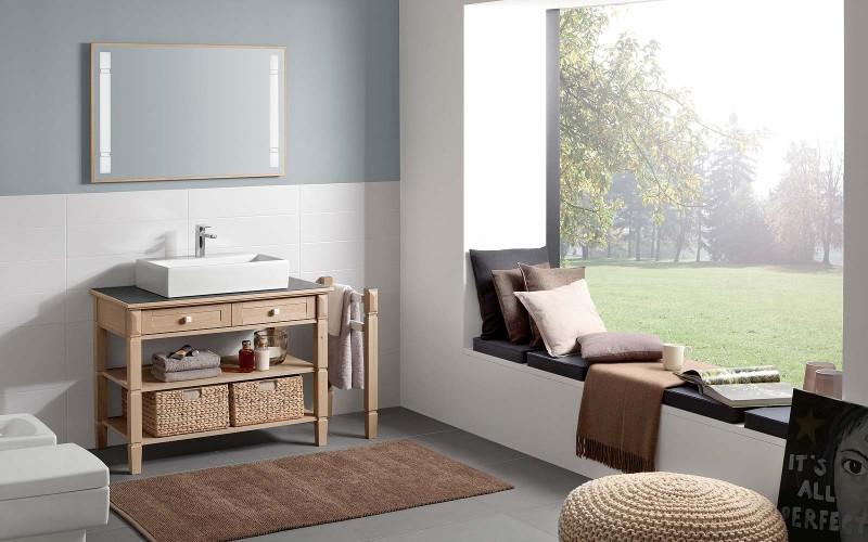badmobel villeroy boch, villeroy & boch true oak – die edle eiche im bad - my lovely bath, Design ideen