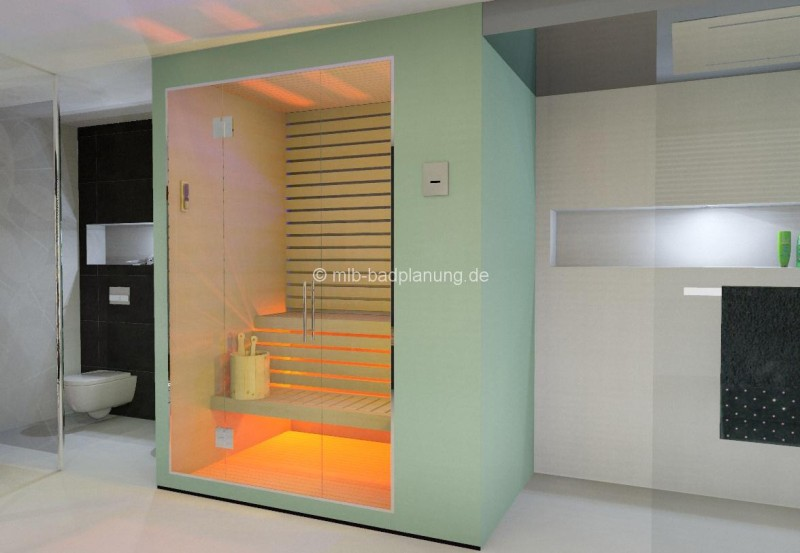 Bäder planen: Traumbad mit Sauna - my lovely bath - Magazin für Bad ...